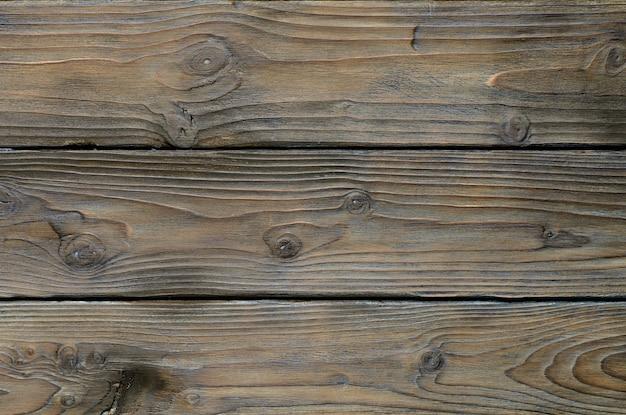 Sfondo astratto di vecchie tavole di legno. vista dall'alto del primo piano per le opere d'arte.