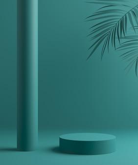 Scena di sfondo astratto per la visualizzazione del prodotto.