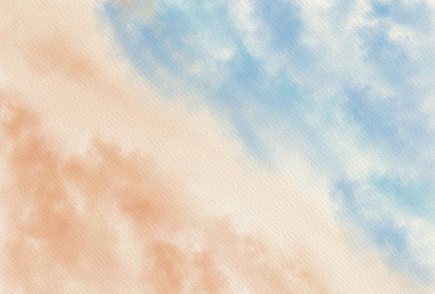 Fondo astratto, struttura del fondo dipinta a mano dell'acquerello. aquarelle sfondo smeraldo astratto. modello orizzontale