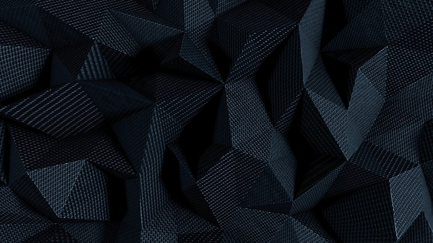 Sfondo astratto con trama del tessuto nero