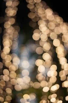 Sfondo astratto con luci sfocate bokeh