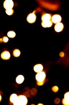 Sfondo astratto con cerchi di luci