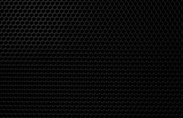 Astratto sfondo nero, trama closeup di colore nero