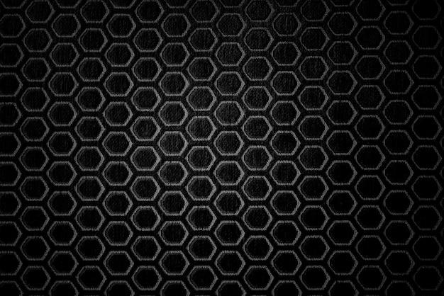 Fondo nero astratto, struttura del primo piano di colore nero
