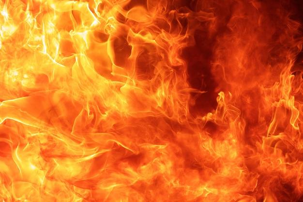 Fondo astratto di struttura della fiamma del fuoco della fiammata