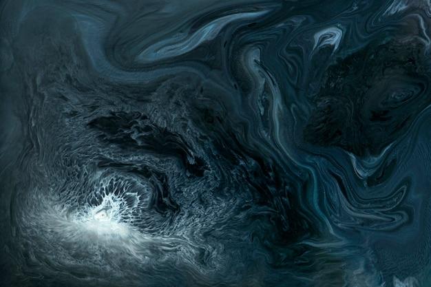 Fondo modellato acquerello blu astratto