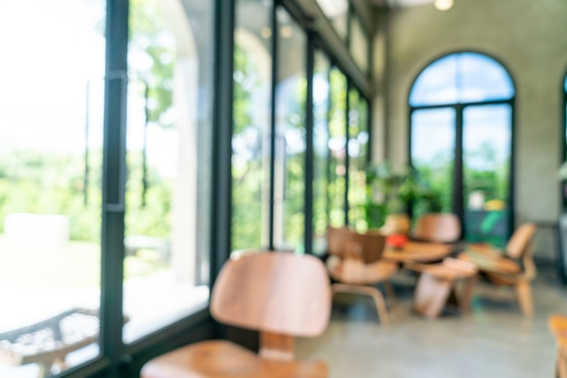 Sfocatura astratta e caffetteria defocused per lo sfondo