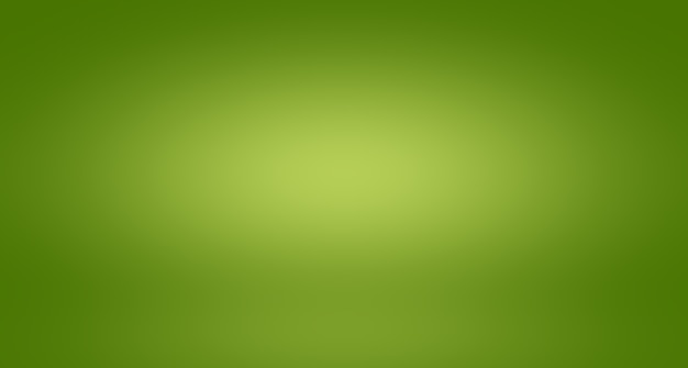 Sfocatura astratta vuota gradiente verde studio ben utilizzato come sfondo, modello di sito web, cornice, rapporto aziendale