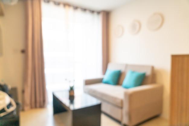 Sfocatura astratta soggiorno