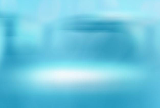 Sfocatura astratta sfondo medico astratto sfondo sfumato blu