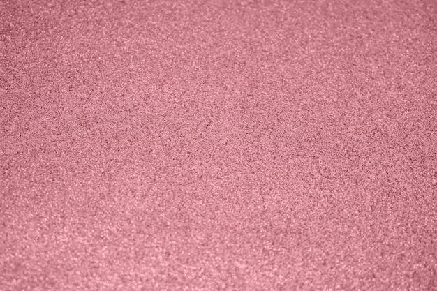 Sfocatura astratta glitter oro rosa scintilla luce bokeh sfocato