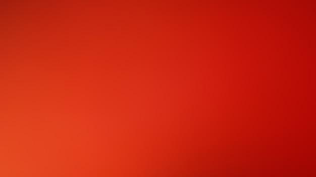 Sfondo sfumato sfocato astratto. sfondo di colore rosso arancio. modello di bandiera.