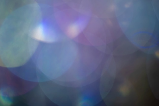 La luce brillante vaga estratto illumina la priorità bassa delle luci.
