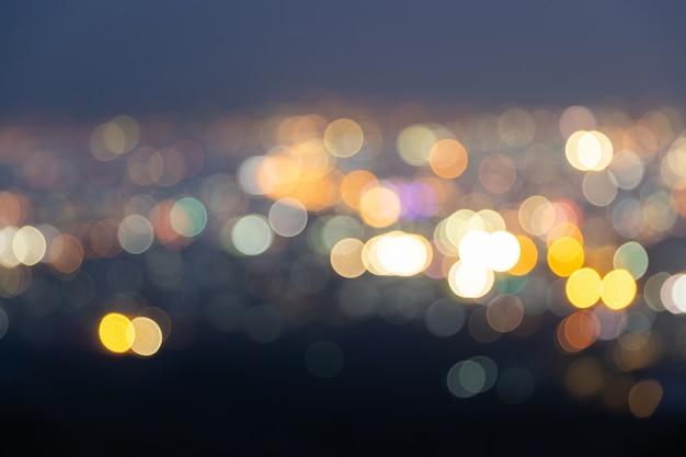 La luce di colore sfocata bokeh astratta può utilizzare lo sfondo.