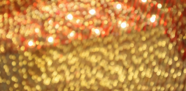 Fondo sfocato sfocato festivo della luce del bokeh astratto