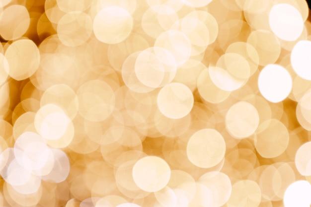 Luci bokeh astratte con luci di sfondo a luce soffusa di ghirlanda