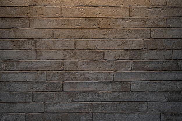 Muro di mattoni astratto con sfondo texture leggera