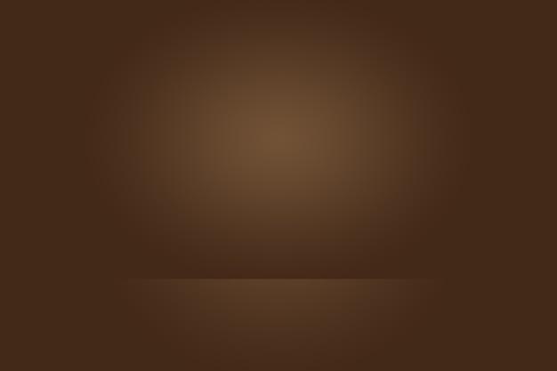 Gradiente marrone astratto ben utilizzato come sfondo per l'esposizione del prodotto.