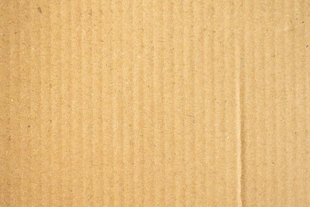 Struttura di carta cartone riciclata marrone astratta