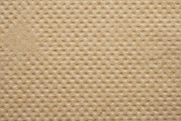 Struttura del tovagliolo di carta velina riciclata marrone astratta