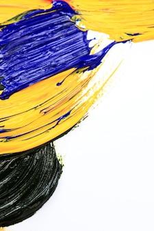 Pittura a olio astratta del colpo della spazzola.