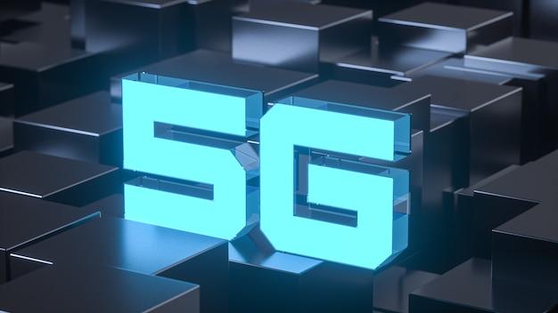 Scena astratta di tecnologia del chip