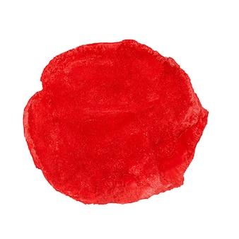 Fondo dipinto ad acquerello astratto del cerchio