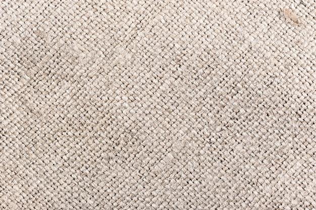 Estratto di tessuto di tela a grana grossa