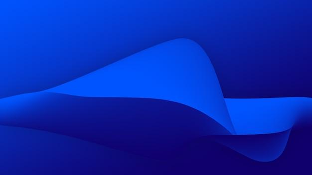 Lo sfondo di colore astratto con motivo a trama ondulata e la linea curva danno una sensazione di surreale e futuristico per la stampa della carta del poster del banner del sito web o la decorazione della carta da parati e l'elemento di design grafico