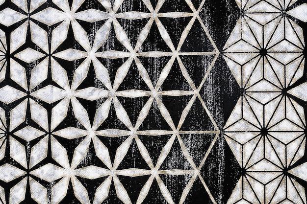 Modello senza cuciture geometrico minimalista di colore astratto