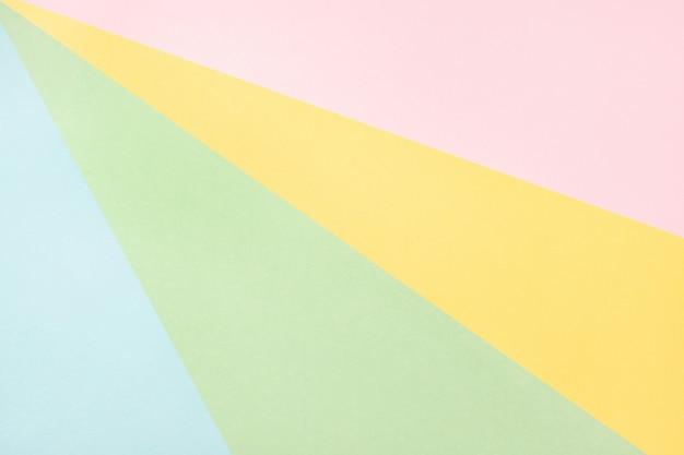 Sfondo geometrico di carta di colore astratto