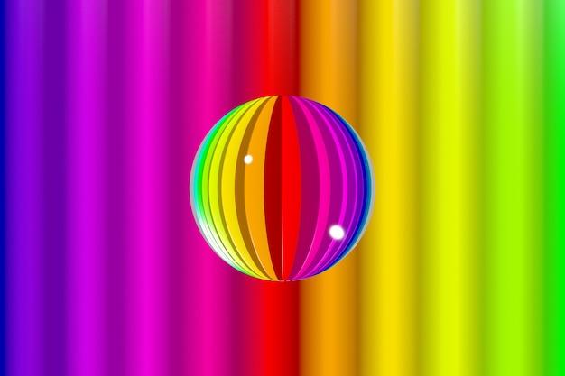Fondo vivo variopinto astratto con i colori dell'arcobaleno.