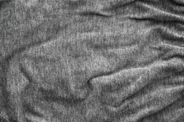 Fondo astratto di struttura del tessuto di colore grigio scuro