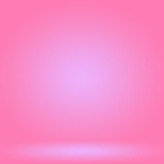 Sfondo astratto vuoto liscio rosa chiaro studio camera da usare come montaggio per displaybannertemp del prodotto...