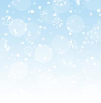 Astratto sfondo di neve che cade.