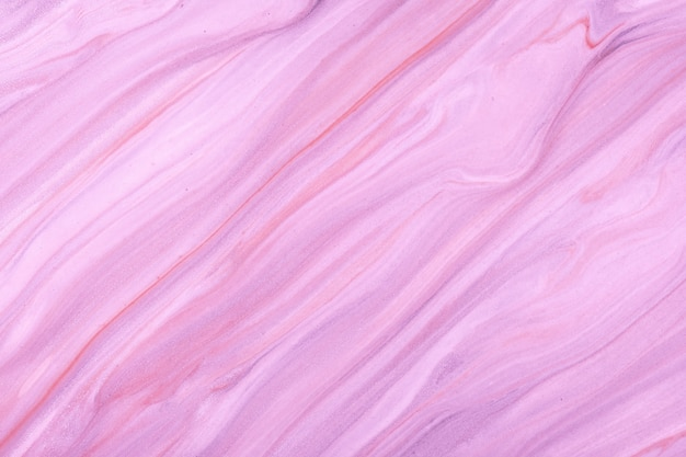 Colori viola e lilla chiari del fondo di arte fluida astratta. marmo liquido. dipinto acrilico su tela con sfumatura viola