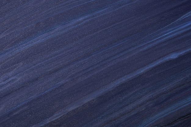 Colori blu navy del fondo di arte fluida astratta.