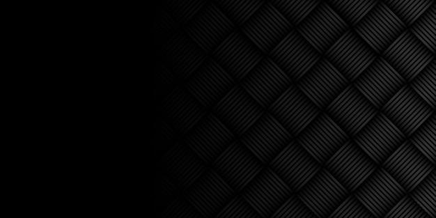 Fondo nero moderno futuristico astratto. design di banner grafico dinamico. sfondo aziendale vettoriale