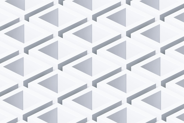 Primo piano estremo del fondo geometrico astratto del cubo. rendering 3d.