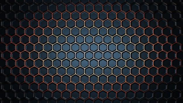 Esagonale geometrico astratto