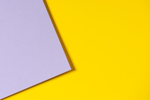 Carta geometrica astratta nei colori gialli e grigi