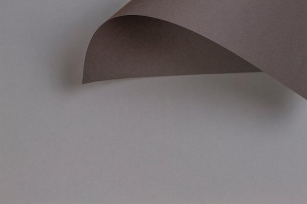 Fondo di carta di colore marrone grigio di forma geometrica astratta