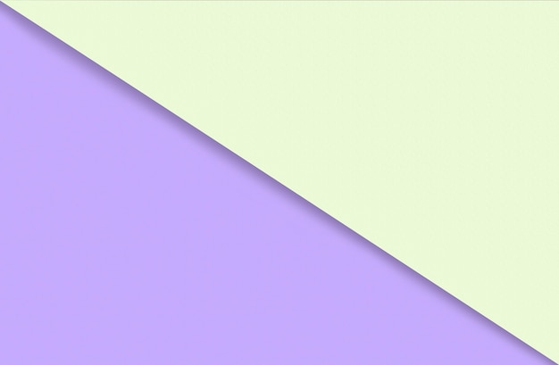 Fondo geometrico astratto della carta di colore dell'acqua in tenui colori pastello giallo e viola di tendenza con d...