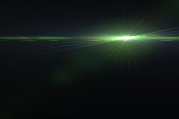 Fondo d'ardore astratto del chiarore dell'obiettivo digitale