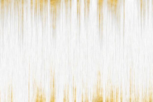 Linea astratta dell'oro grigio e fondo interno di arte di struttura di legno bianca