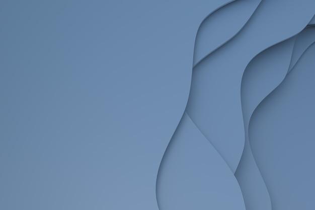 Progettazione del fondo di arte del taglio della carta grigia astratta