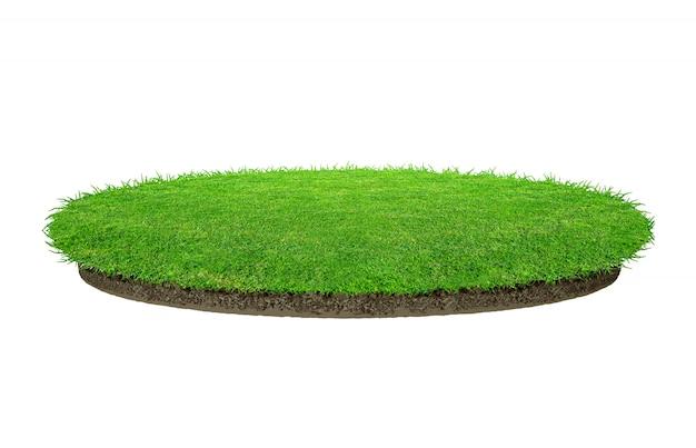 Struttura astratta dell'erba verde