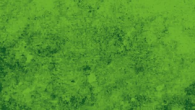 Spruzzi verdi astratti e rumore, sfondo scuro grunge. elegante e lussuoso stile di illustrazione 3d dinamico per hipster e modello di strada