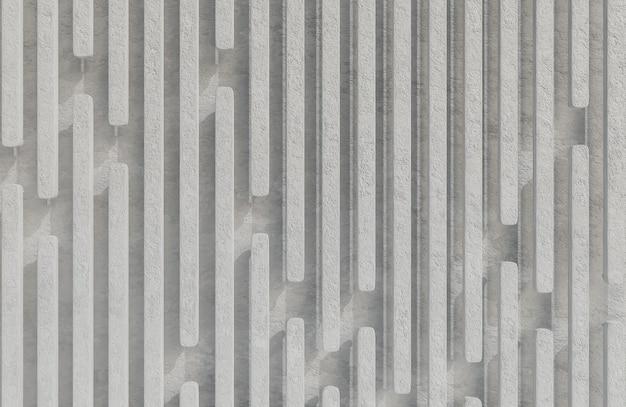 Abstract gray rock stecche sfondo grunge texture stile modello 3d e illustrazione.