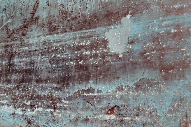Sfondo grunge astratto vecchio metallo arrugginito con graffi